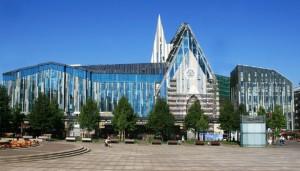 Universität Leipzig Campus am Augustusplatz - Neues Hauptgebäude und Paulinum